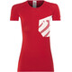 Compressport Casual Postural T-Shirt Staff - Camiseta Running Mujer - rojo
